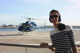 Barcelona City and Coast Helicopter Tour, SCV - January 2013