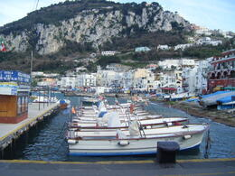 Photo of Rome Capri Day Trip from Rome Boats the take you around the island and the Blue Grotto