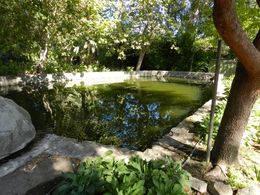 Our wine tasting overlooked this lovely pool! , Ronald G - September 2015
