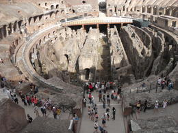 Amazing view of the Colosseum , Kelly D - July 2014