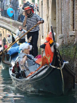 Photo of Venice Venice Walking Tour and Gondola Ride Costumes