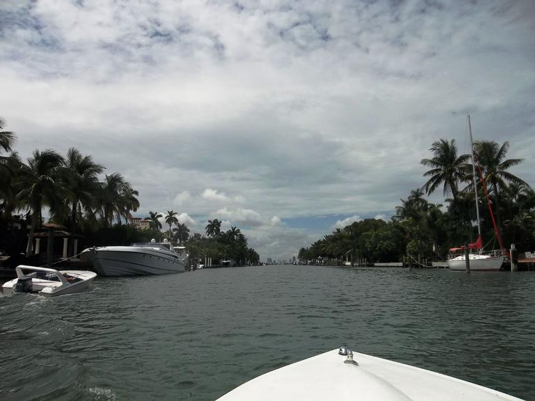 Cruising around Star Island - Miami