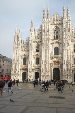 Photo of Milan Skip the Line: Small-Group Milan Walking Tour with da Vinci's 'The Last Supper' Tickets Duomo exterior before trip started