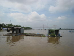 Photo of   Fish Farm on the Mekong River