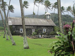 Miracle Church at Ke'anae - May 2013
