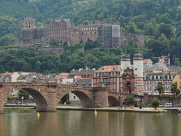 Heidelberg and the castle , Kevin F - August 2013