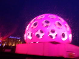 Photo of Amsterdam Holiday Canal Cruise: Amsterdam Light Festival from a Glass-Topped Canal Barge light festival artwork
