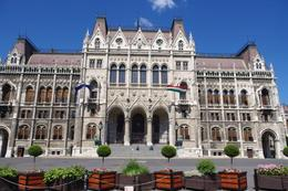 Photo of Budapest Budapest Parliament House Tour Main entrance of Parliament, Budapest