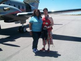 Photo of Las Vegas Deluxe Grand Canyon West Rim Airplane Tour with Optional Helicopter Tour Next to our plane
