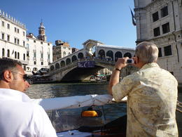 Boating Tour of the Canals - This is our view of the Rialto , Kevin K - June 2011