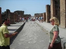 Photo of Naples Naples City and Pompeii Half Day Sightseeing Tour Pompeii street