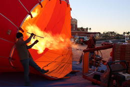 Photo of Las Vegas Las Vegas Sunrise Hot Air Balloon Ride The Burner Flame