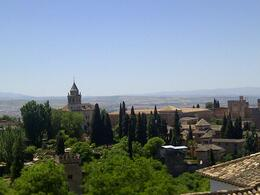 View from the Alhambra, Granada , ERK - May 2014