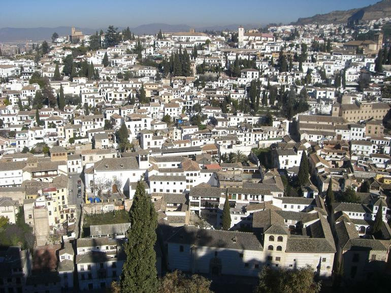 View of Granada from Alhambra - Seville