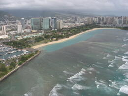 Great views of Waikiki, the beach and the water!, Bandit - February 2011