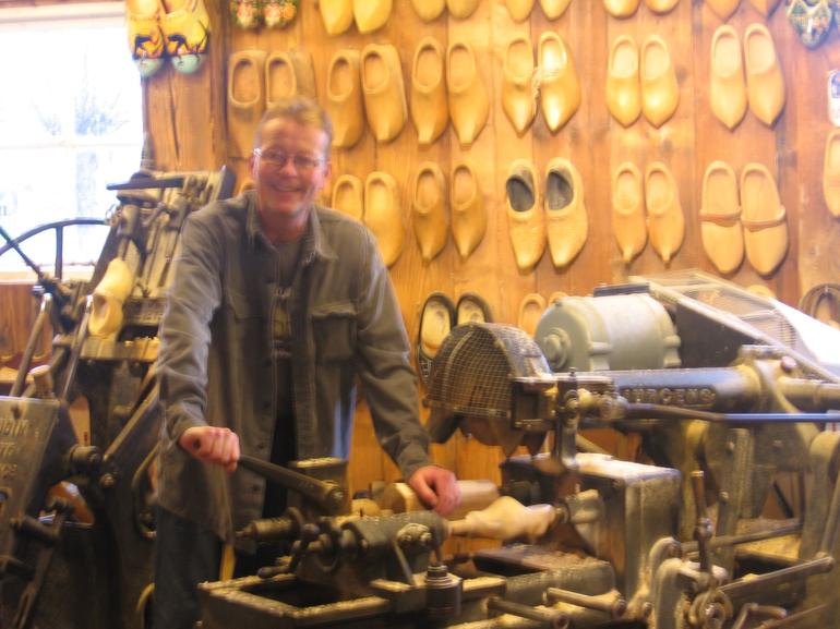 Wooden Shoes Factory - Amsterdam