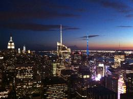 Sunset from the Top of the Rock! , jhslash - September 2012