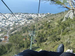 Photo of Rome Capri Day Trip from Rome Cable chair ride