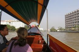 Cruising up the Chao Phraya River in Bangkok., Tighthead Prop - September 2010