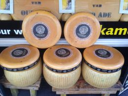 Really big cheese wheels! - April 2015