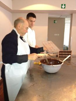 expert supervision, superb chocolate , Charles B - November 2011