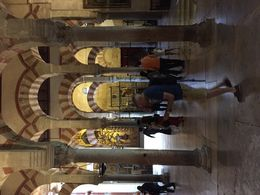 Inside the Cordoba Cathedral-mosque , Francisco M - May 2016