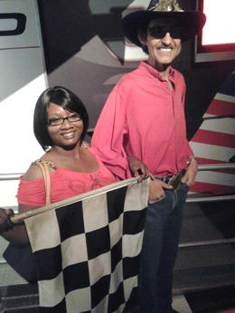 Photo of Las Vegas Madame Tussauds Las Vegas Fly that checkered flag!