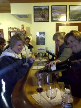 Friendly service at Clines Winery!, Timetable Tim - March 2011