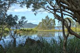 One of the lakes at the morning tea stop. , John G - October 2012