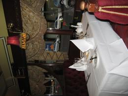 The table setting looked great., Brian D - September 2010