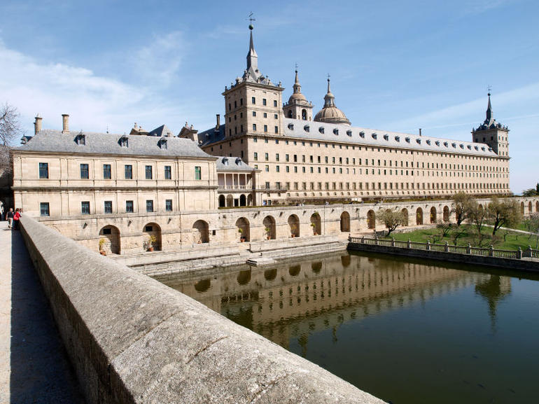Royal Monastery of San Lorenzo de El Escorial, Madrid, Spain - Madrid