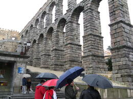 and quot;The rain in Spain and quot; didn't slow us down , Judi - May 2011