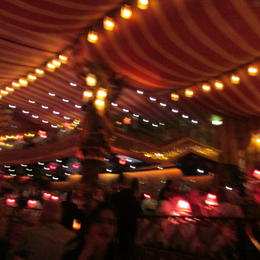 Lights everywhere - too bad we were not allowed to take a photo of the show itself - BUT the memory will linger for ever , Traveller - July 2014