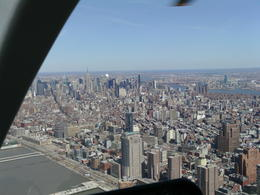panorama of new york city , enid h - May 2011