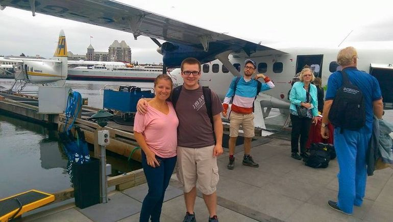 seaplane to victoria from vancouver and return trip on coach and ferry