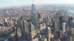 Photo of New York City Big Apple Helicopter Tour of New York South Manattan vue du ciel