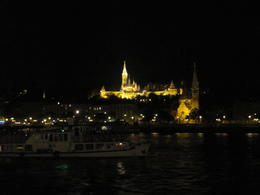 Photo of Budapest Budapest Night Walking Tour and River Cruise St Stephen's Basilica at night