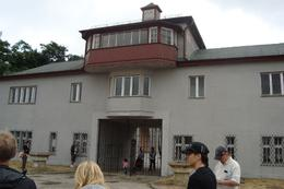 Photo of Berlin Sachsenhausen Concentration Camp Memorial Walking Tour The main watch tower