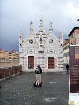 Photo of   The smallest church in Pisa