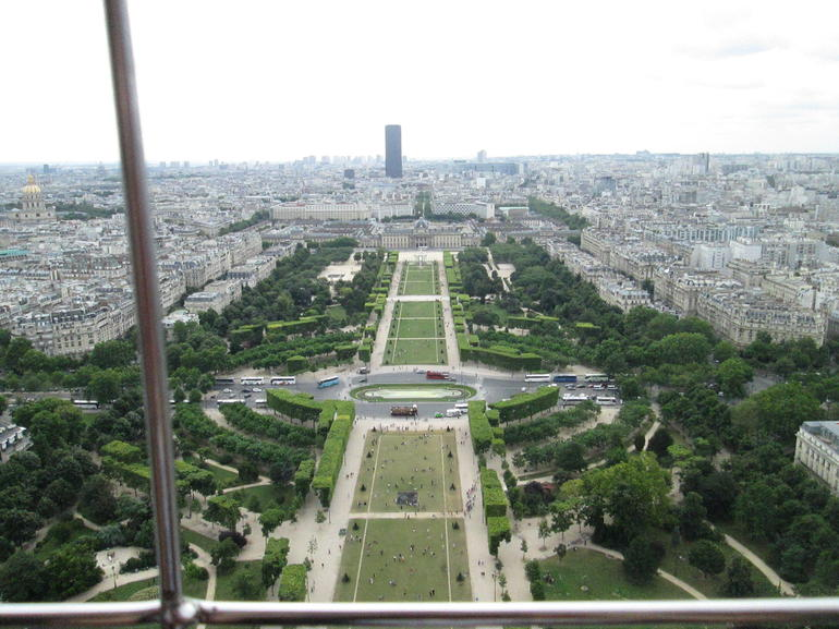 View from Eiffel tower - Paris