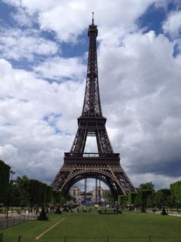 view of Eiffle Tower from the bus! , Lyl R - June 2012