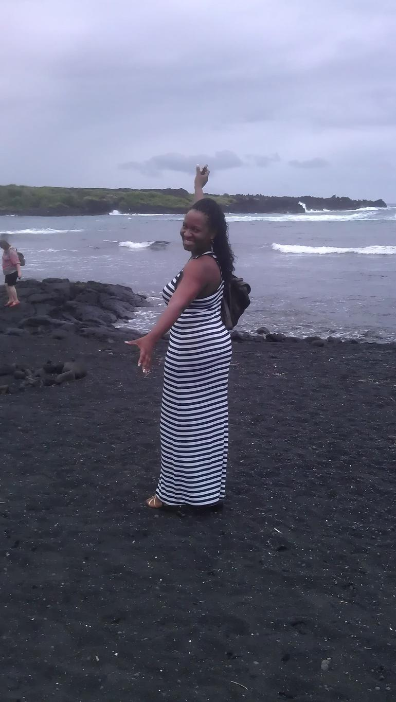 black sand beaches - Oahu