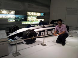 Shirish at BMW museum in Munich , Neha M - June 2012