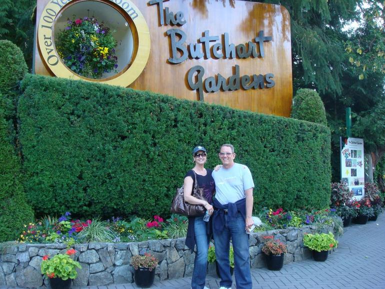 Butchart Gardens - entry - Vancouver