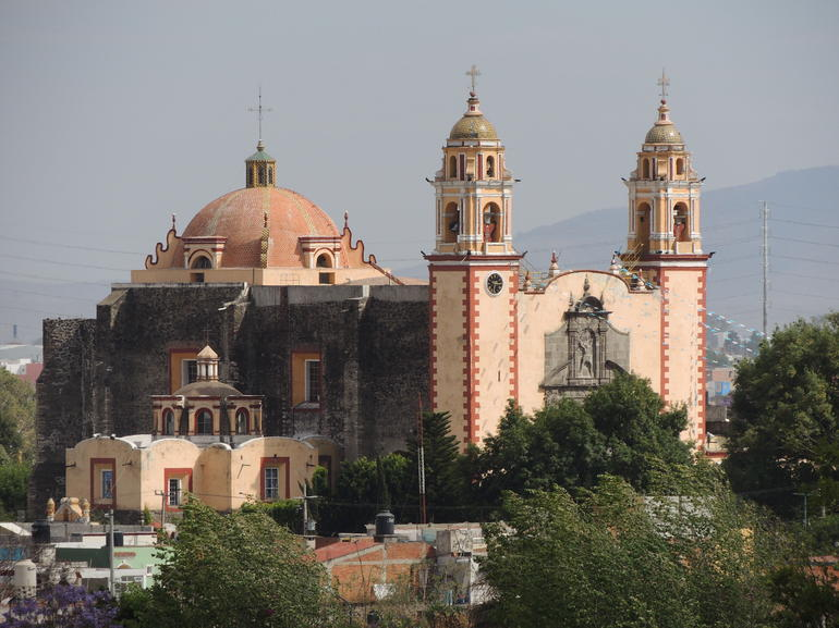 Another colonial church in Cholula