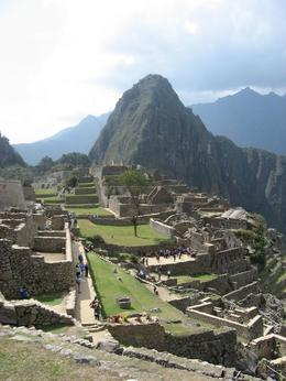 View of the ruins at Machu Picchu., Bandit - December 2010