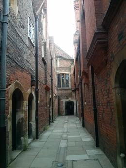 Hampton Court Palace had cool little passageways -- this one goes from pantries to the kitchens. , thepea - July 2014