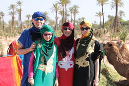 Dressing up for camel ride , Ante B - June 2016