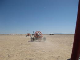 Photo of Las Vegas Mini Baja Buggy Half-Day Tour from Las Vegas Eating Sand...