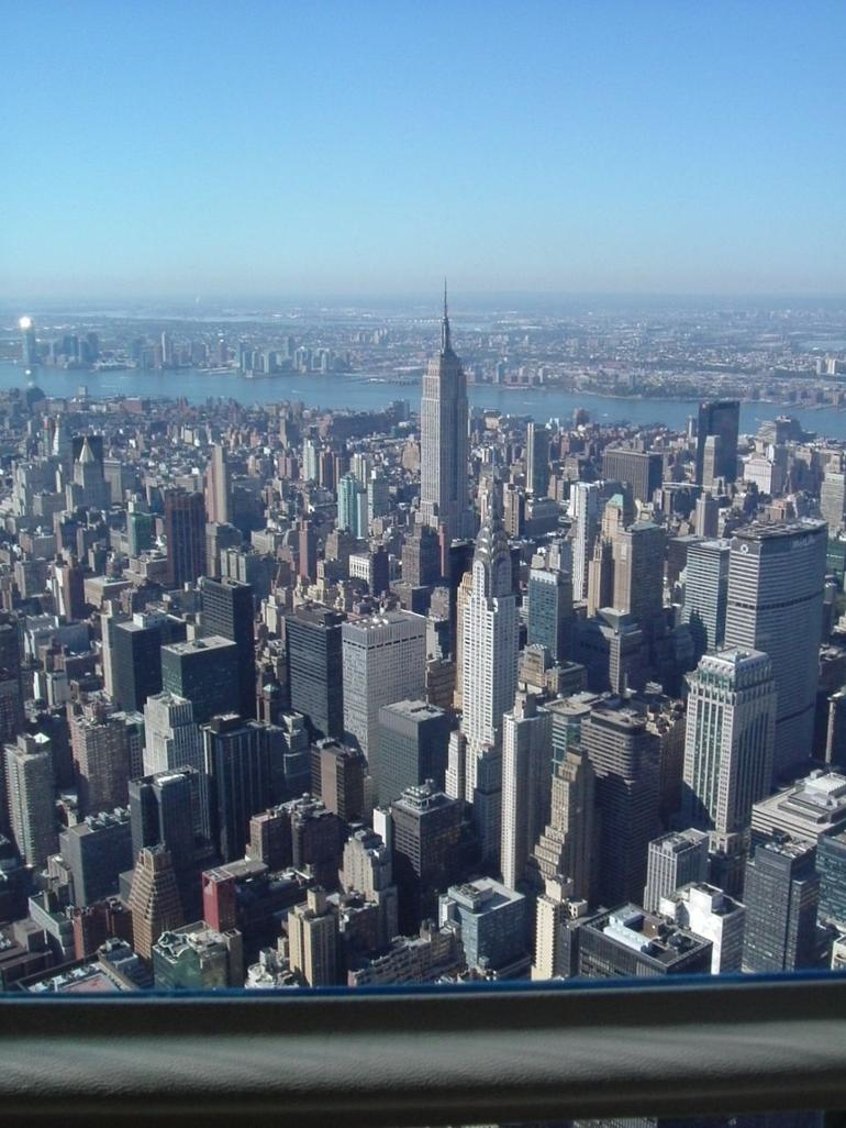 Empire State and Chrysler Building - New York City